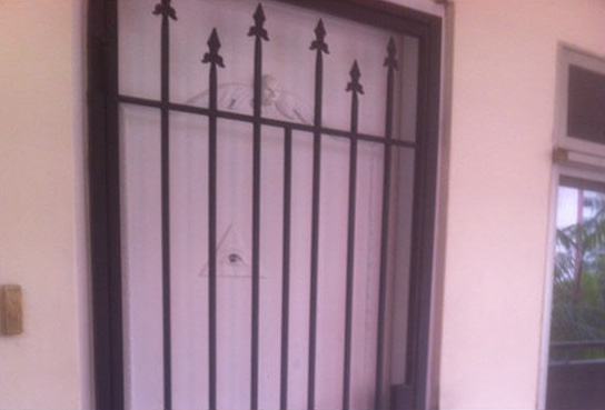 Fixed Window Glass in Telok Kurau apartment
