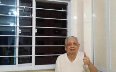 Bi-Fold Door and Kitchen Windows for Bukit Batok unit