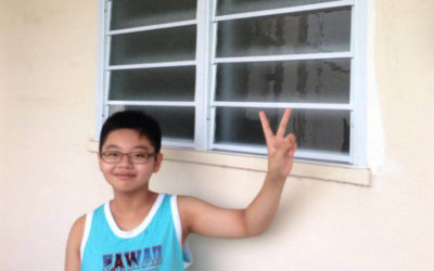Corridor Window for Ang Mo Kio HDB Unit