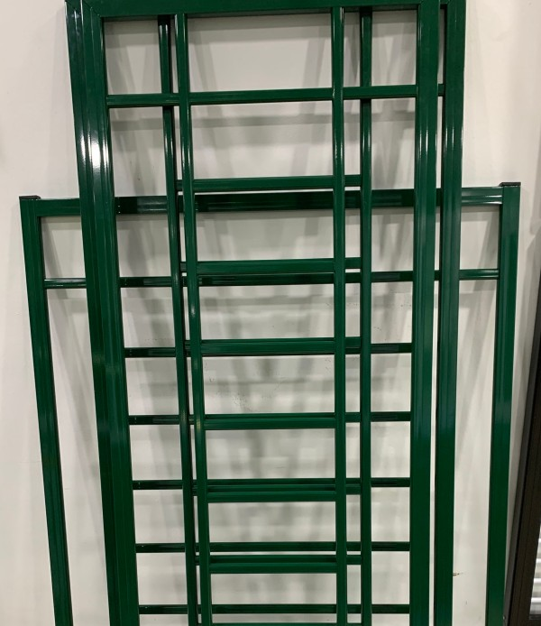 Green Color Aluminium Grilles