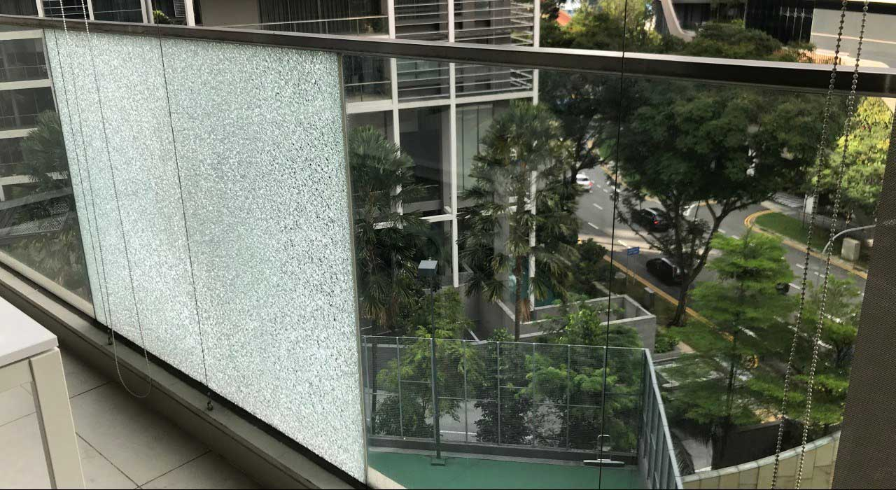 Tempered Glass in Balcony